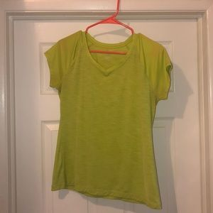 Tops - Green exercise tee